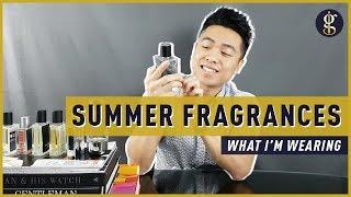 7 Cool Summer Fragrances for Men (Cologne & Fragrance Collection)