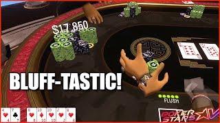 PokerStars VR ⭐️ Pokertainment #7: Bluff-Tastic! ♥️♣️♦️♠️