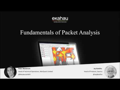 Webinar: Fundamentals of Packet Analysis
