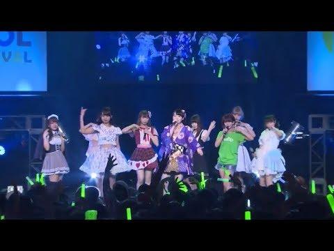 20170806 TOKYO IDOL FESTIVAL2017 HEAT GARAGE ℃-ute大好きステージ