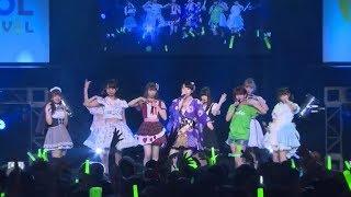 2017.08.06 TOKYO IDOL FESTIVAL2017 HEAT GARAGE ℃-ute大好きステージ ...