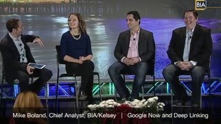 Mike Boland: Google Now and Deep Linking Panel (LA '15)