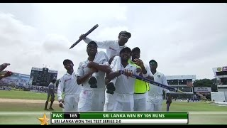Sri Lanka beat Pakistan by 105 runs - 2nd Test, Day 5: Highlights