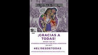 Crea el 19 de Diciembre como Día contra el Femicidio