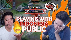 Play with Indonesia Pro Player EVOS. EMPEROR