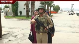 Askerlere 'Anneler Günü' sürprizi