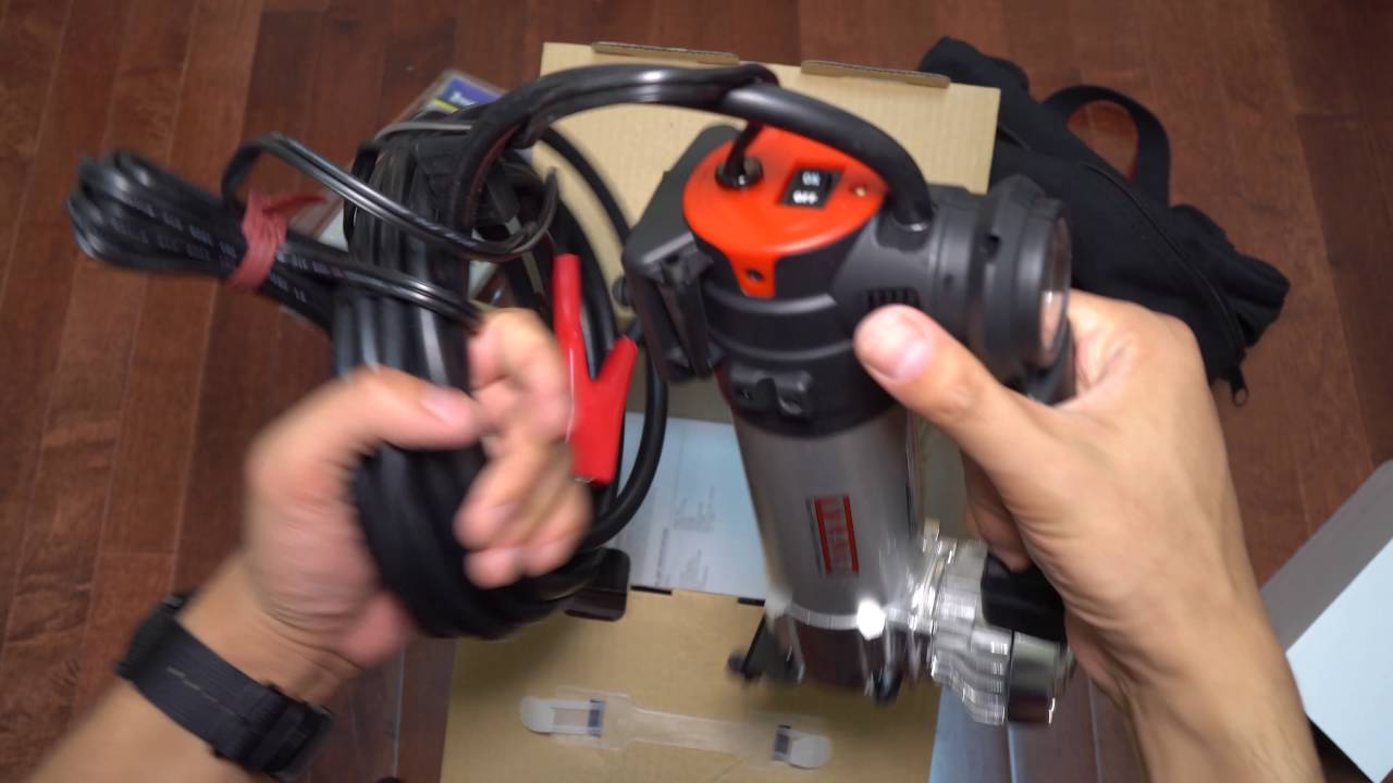 12 Volt Air Compressor Heavy Duty >> Junk in My Trunk: Viair 88P 12 Volt Heavy Duty Air Compressor Unboxing + Trunk Kit - YouTube