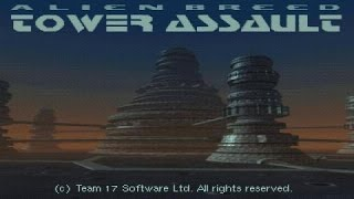 Alien Breed: Tower Assault gameplay (PC Game, 1994)
