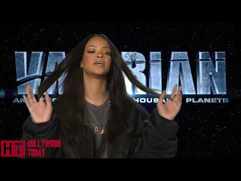Rihanna Cried while filming Valerian with Luc Besson