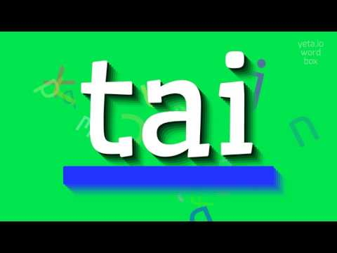 """How to say """"tai""""! (High Quality Voices)"""