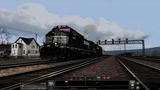 Train Simulator 2021 - [NS GE C44-9W] Triple Crown Westbound, 2000 - 4K UHD