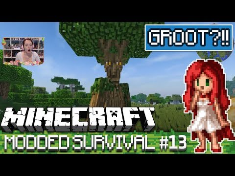 GROOT??! [Over The Rainbow Modded Minecraft Ep 13]