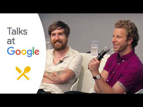 "Daniel Burns and Jeppe Jarnit-Bjergso: ""Food & Beer""   Talks at Google"