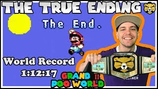 Grand Poo World 2: All Exits True Ending NEW World Record Speedrun 1:12:17