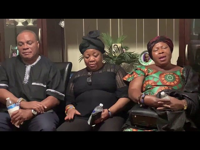 Elders Of The Ewe Association Of Metropolitan Chicago Commiserate With The Darko Family