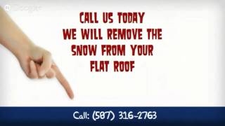 Flat Roof Snow Removal Calgary - Calgary Snow Removal At It's Best