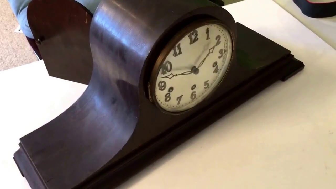 Old german mantle clocks
