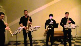 Close Your Eyes And Listen By Astor Piazzolla New Clear Saxophone Quartet