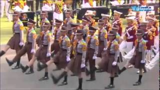 Download Video Amazing Indonesian children precision walking during the independence day of Indonesia 2015 MP3 3GP MP4