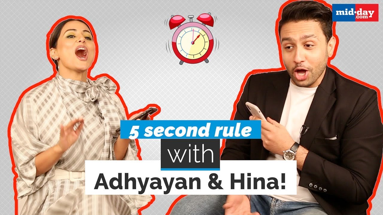 5 second rule with Hina Khan and Adhyayan Suman | Damaged 2