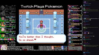 Twitch Plays Pokémon Anniversary Burning Red - Hour 210 to 211