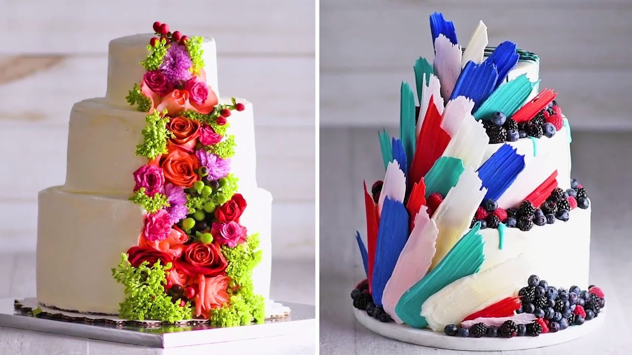 A Wedding Cake Thats Fit For A Princess Cake Hacks Homemade