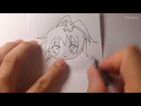 tập vẽ tay cơ bản, vẽ CHIBI ,Basic drawing tutorial CHIBI 6