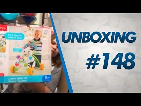 Unboxing #148 - Roupas Carter's, Itens De Bebê, Andador Fisher Price - 43 Lb - TAXADO NO DECLARADO