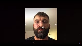 UFC. Андрей Орловский - про питбуля, российские сериалы и съемках в кино