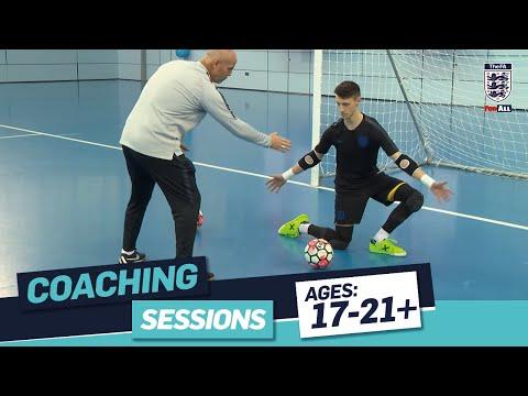 Part 1 - Tony Elliott: Futsal Goalkeeper Techniques | FA Learning Coaching Session
