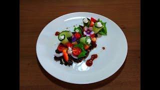 Праздничный греческий салат.Праздничный стол.Романтический ужин.14 февраля.8 марта