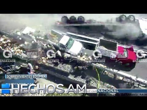 Entrevista. Reportero de Azteca Noticias salva la vida luego de fuerte accidente