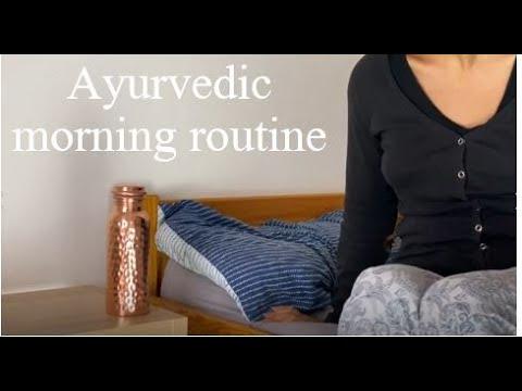 Ayurvedic morning routine rituals - how to kickstart your day the Ayurvedic way
