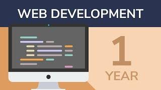 1 YEAR of Web Development in 8 Minutes [Beginner's Syllabus] [2017]