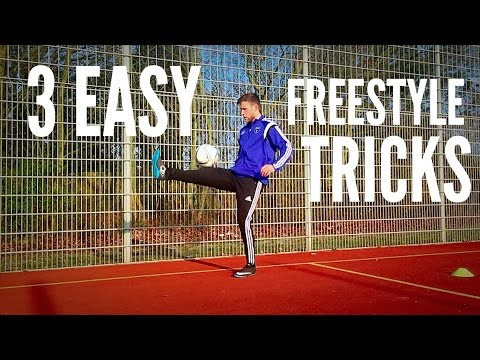 3 Easy Freestyle Soccer Tricks For Beginners