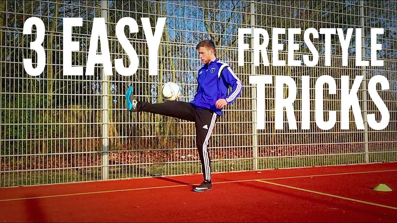 3 Easy Freestyle Soccer Tricks For Beginners