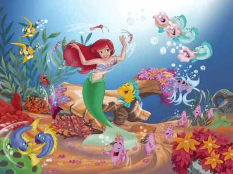 Under The Sea ~ Here on the Land and Sea (Ariel's Seaside Treasures)