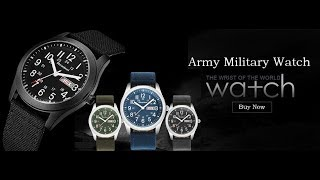 Military Sport Mens Casual Quartz Watches review