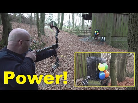 Pump Action Bow Invention - On  a 70 lbs Compound???