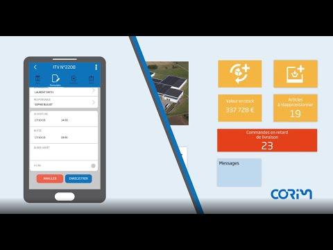 Corim Progress, Corim Touch : votre GMAO pour une maintenance maîtrisée