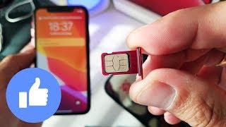 iphone xr как вставить симку. Как вставить sim-карту в iphone xr.