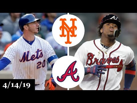 New York Mets vs Atlanta Braves Highlights | April 14, 2019