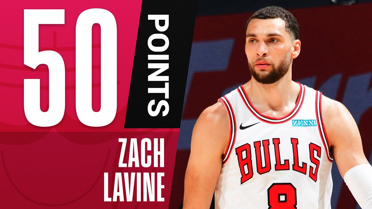Zach LaVine Goes for CAREER-HIGH 50 PTS! 🔥