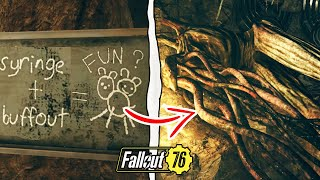 Fallout 76   What Happens if You Shoot the Interloper With Rose's Syringer? (Fallout 76 Secrets)