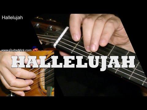 HALLELUJAH: Easy Guitar Lesson + TAB + CHORDS by GuitarNick