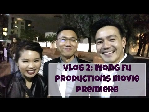 Wong Fu Productions Movie Premiere + Q&A! | Vlog | elegant lil lady