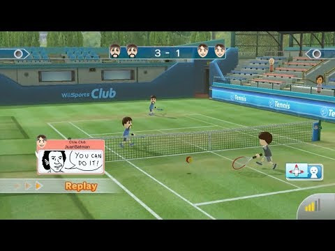 Wii Sports Club: Tennis (Online Match)