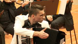 Accordion performance with orchestra in Berliner Philharmonie! - Martin Kutnar