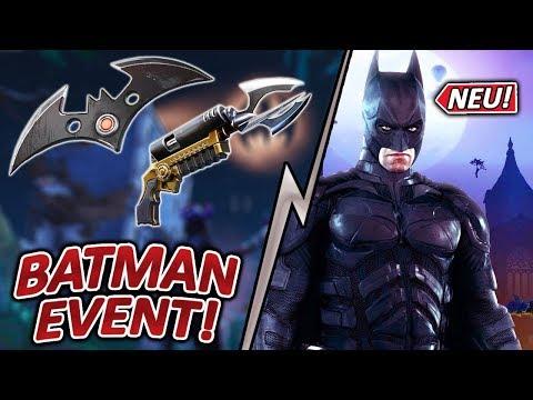 NEUES BATMAN EVENT 🦇🔥 GOTHAM CITY 😱, NEUE SKINS & WAFFEN | Fortnite battle royale