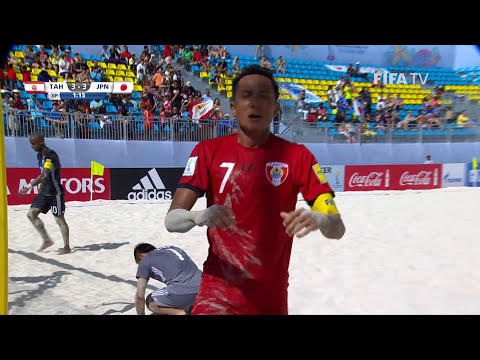 Match 13: Tahiti v Japan - FIFA Beach Soccer World Cup 2017
